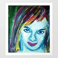 KATE FROM ENGLAND Art Print