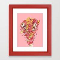 Melt! Framed Art Print