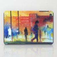 Street scene iPad Case