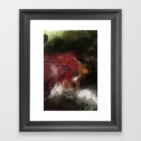 Cold Visit Framed Art Print