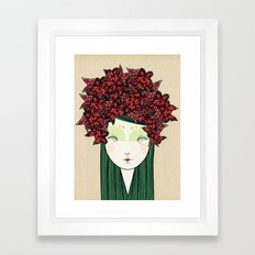 The butterfly Framed Art Print