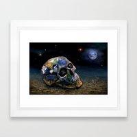 Save our World 16 Framed Art Print