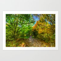 The Early Autumn Forest Art Print