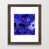 Galactic Infusion Framed Art Print