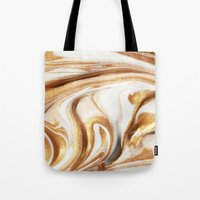 MARBLE CREAM Tote Bag