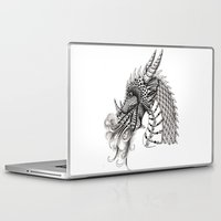 dragon Laptop & iPad Skins featuring Dragon by Elisa Camera