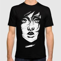 Wind Mens Fitted Tee Black SMALL