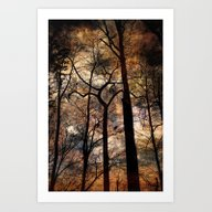 Art Print featuring Sheltering Sky by Spoken In Red