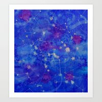 Constelation Art Print