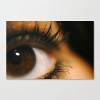 Those Eyes Canvas Print