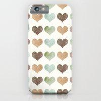 DG HEARTS - RUSTIC iPhone 6 Slim Case