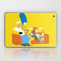 The Simpsons - Family Laptop & iPad Skin
