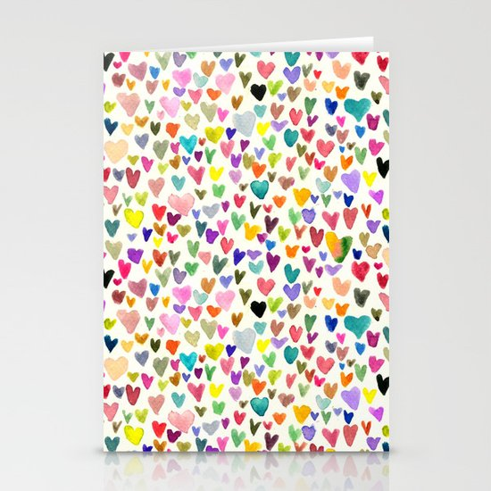 Love the world Stationery Card