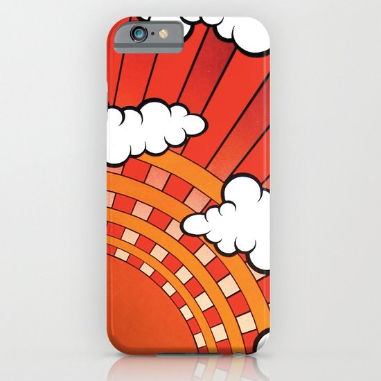 Red Ray iPhone & iPod Case