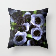 A wedding day, night version Throw Pillow