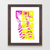 Disco Queen Of Myworld Framed Art Print