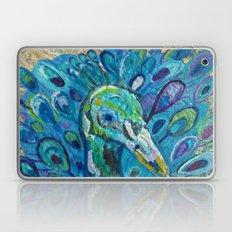 Peacock Up Close Laptop & iPad Skin