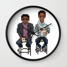 Troy And Abed In the Morning Wall Clock