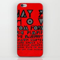 Eye Test - JAY Z iPhone & iPod Skin