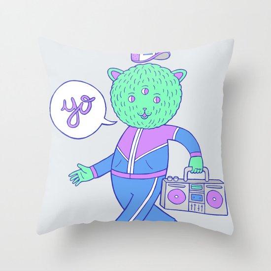 yo! Throw Pillow