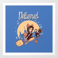 Delivered Art Print