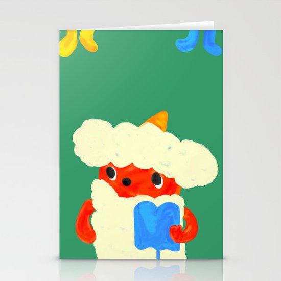 Baby demon (Japanese baby demon) Stationery Card