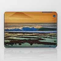 Indonesian Wave And Volc… iPad Case