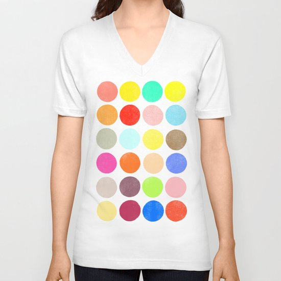 colorplay 1 V-neck T-shirt