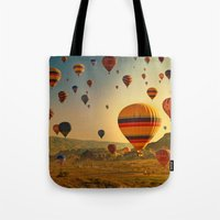 Sunrise In Cappadocia Tote Bag