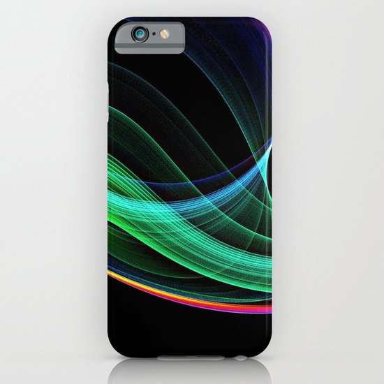 rainbow green iPhone & iPod Case