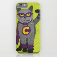 iPhone & iPod Case featuring Cat by subpatch