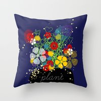 Plant Love! Throw Pillow