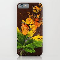 iPhone & iPod Case featuring Monarchs by Jason Angeles