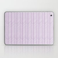 Herringbone Orchid Laptop & iPad Skin