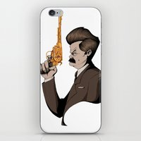 Swan Song iPhone & iPod Skin