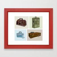 LOST Luggage (Composite)… Framed Art Print