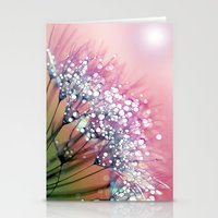 Rainbow Dandelion Stationery Cards