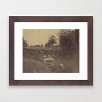 Japanese Bridge Framed Art Print