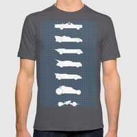 Choose Your Ride Mens Fitted Tee Asphalt SMALL
