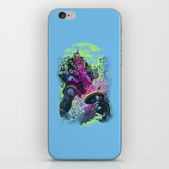 Magnysseus vs the Cyclops: X-Odyssey iPhone & iPod Skin