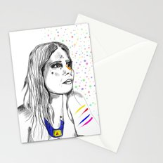 Colored Imagination Stationery Cards