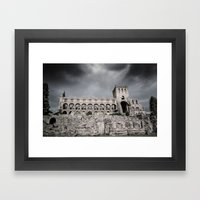Faded Memories: Jedburgh Abbey Framed Art Print