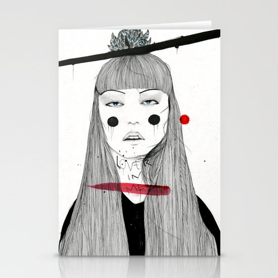Lover in Me Stationery Card