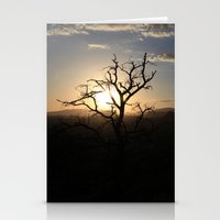 Skimpy Tree Glows Stationery Cards