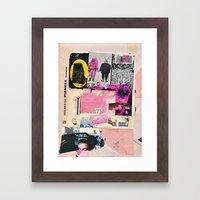 Blackwood Seven Framed Art Print