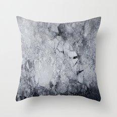 Iced Asphalt Throw Pillow