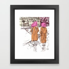 Edgware Road Framed Art Print