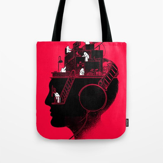 Everyday is a New Soundtrack Tote Bag