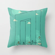 The Belvederes Throw Pillow