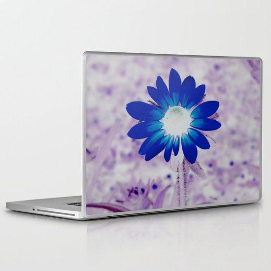 bolt of blue Laptop & iPad Skin